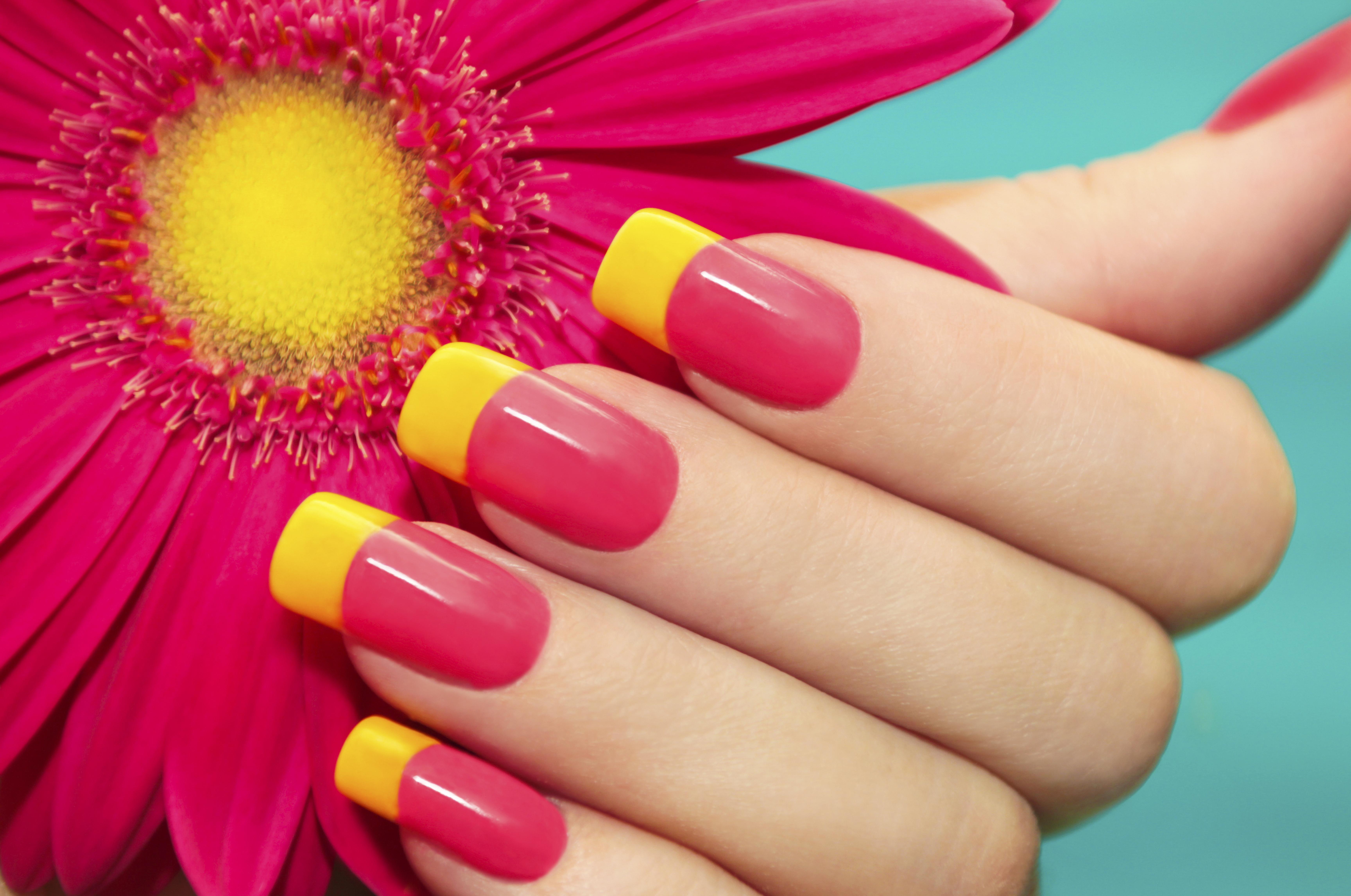 żel manicure
