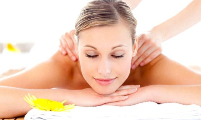 masaż relaksujący